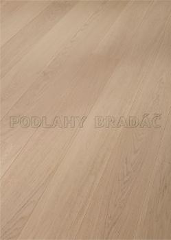 Dřevěné plovoucí podlahy Meister PD 400 Cottage Dub bílý harmonický 8090