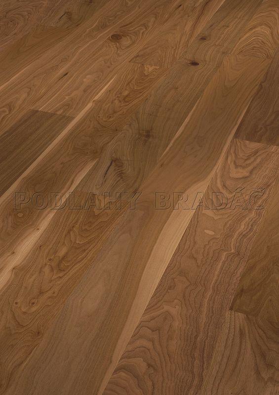 Dřevěné plovoucí podlahy Meister PD 400 Cottage Ořech americký živý 8275