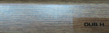 Podlahová lišta KP 40 (DUB H)