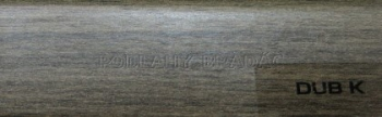 Podlahová lišta KP 40 (DUB K)