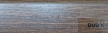 Podlahová lišta KP 40 (DUB X)