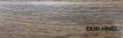 Podlahová lišta KP 40 (DUB HNĚDÝ)