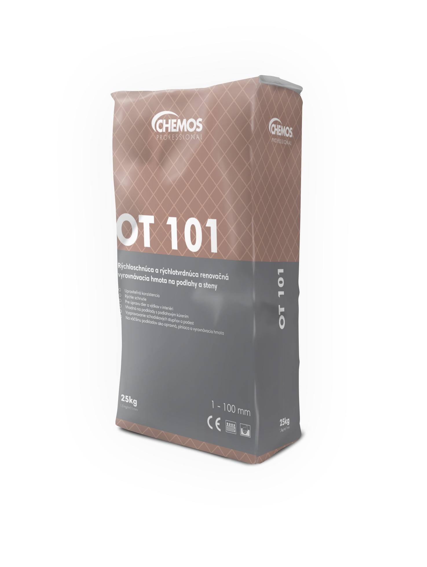 Chemos OT 101 opravný tmel 25kg