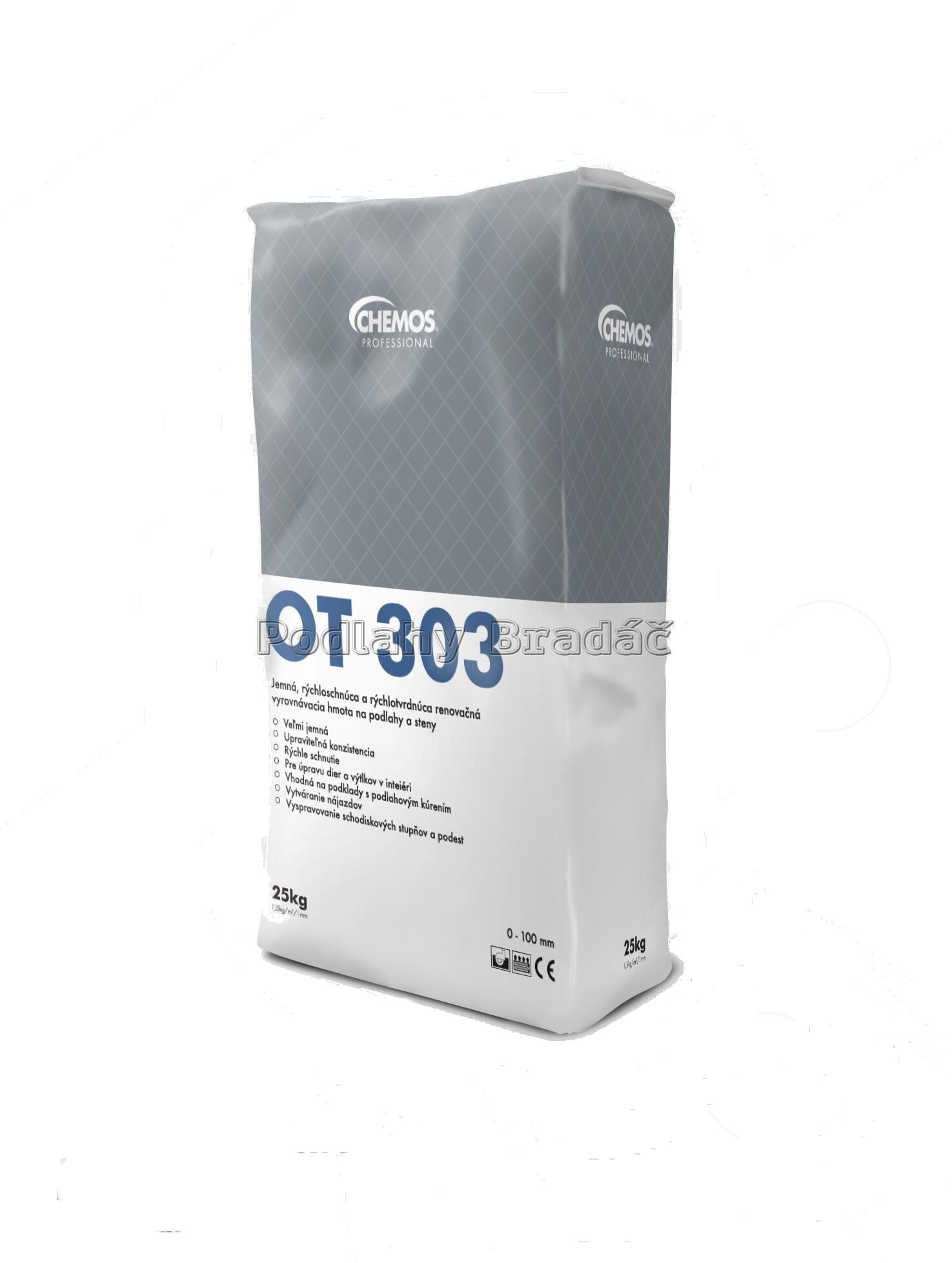 Chemos OT 303 (25kg) Samonivelační hmota
