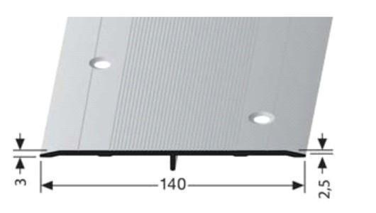 Přechodová lišta A 140 mm