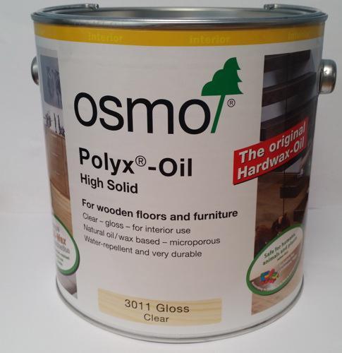 Osmo Original tvrdý voskový olej lesk 3011 2,5l