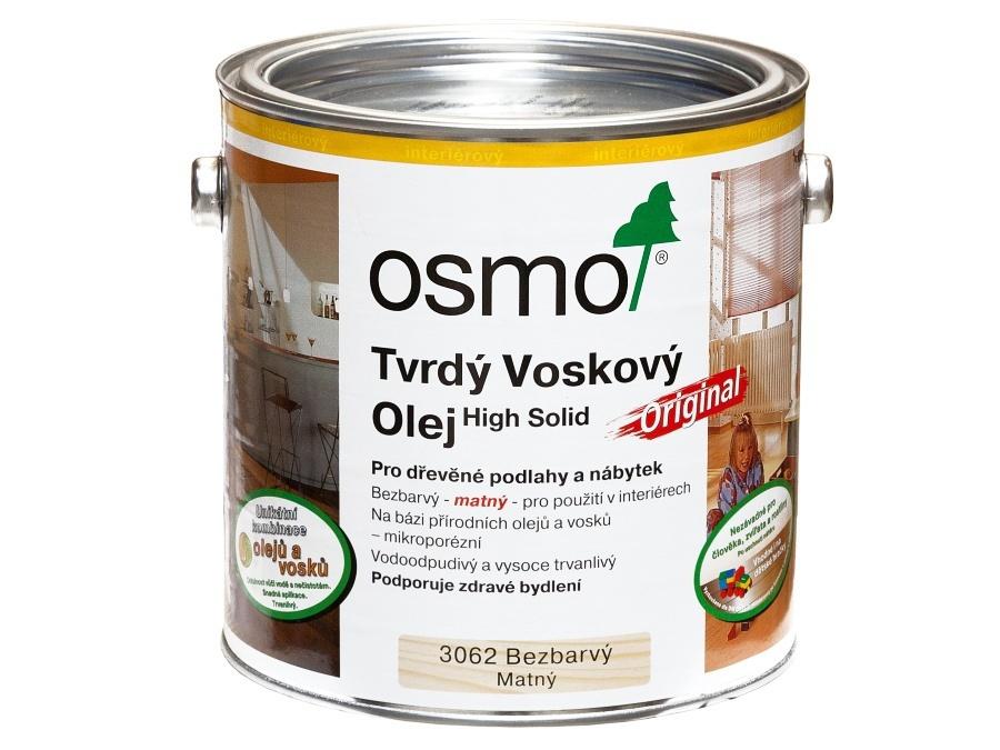 Osmo Original tvrdý voskový olej mat 3062 10l