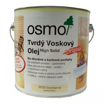 Osmo Original tvrdý voskový olej polomat 3032 0,75l