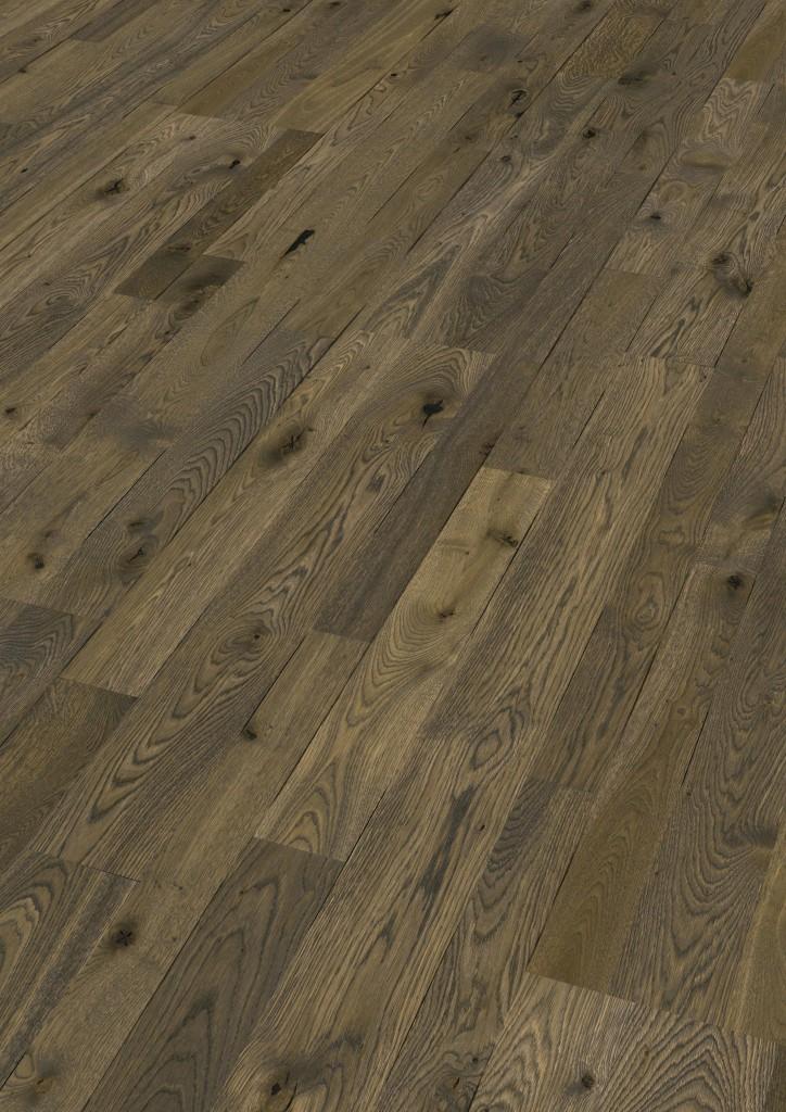 Dřevěné plovoucí podlahy Meister PC 400 Style Dub country olivově hnědý 8589