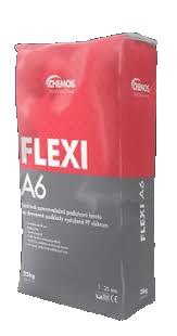 Chemos Flexi A6 s vlákny samonivelační Sádrová hmota  25kg