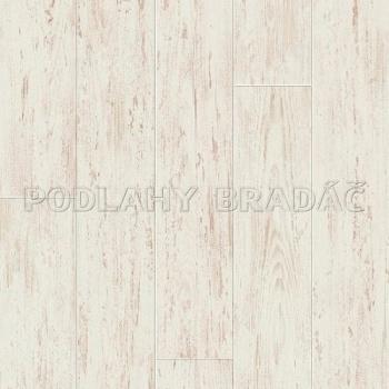 Plovoucí podlaha Quick Step Perspective V4 Bílá broušená borovicová prkna UF 1235