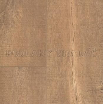 Plovoucí podlaha Quick Step Perspective V4 Wide Dub s řezy pilou přírodní prkno ULF 1548