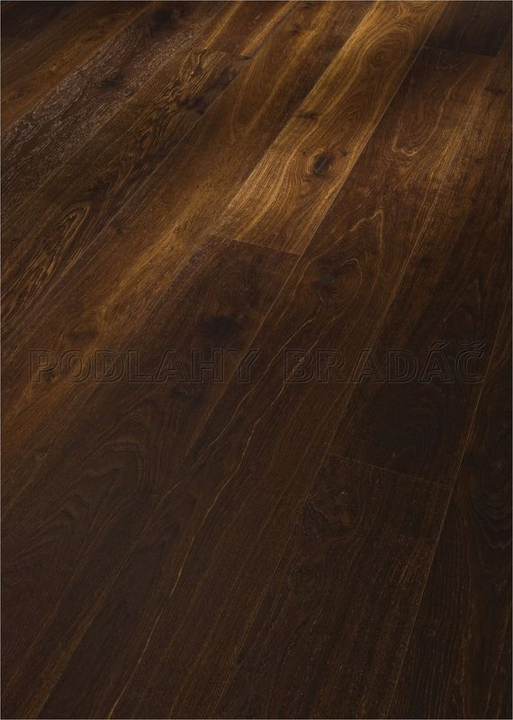 Dřevěné plovoucí podlahy Meister PD 400 Cottage Dub čpavkovaný živý 8031