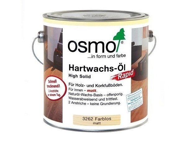 Osmo tvrdý voskový olej Rapid mat 3262 2,5l