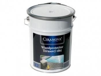 Ciranova WOODPROTECTOR olej na dřevěné terasy 5L