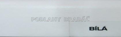Podlahová lišta KP 40 (bílá)