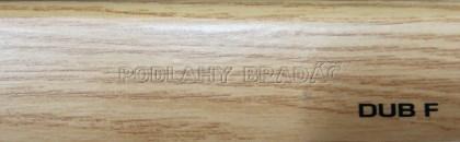 Podlahová lišta KP 40 (DUB F)