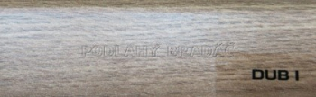 Podlahová lišta KP 40 (DUB I)