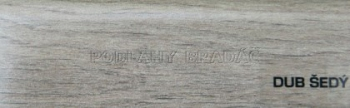 Podlahová lišta KP 40 (DUB ŠEDÝ)