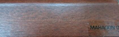 Podlahová lišta KP 40 (MAHAGON C)