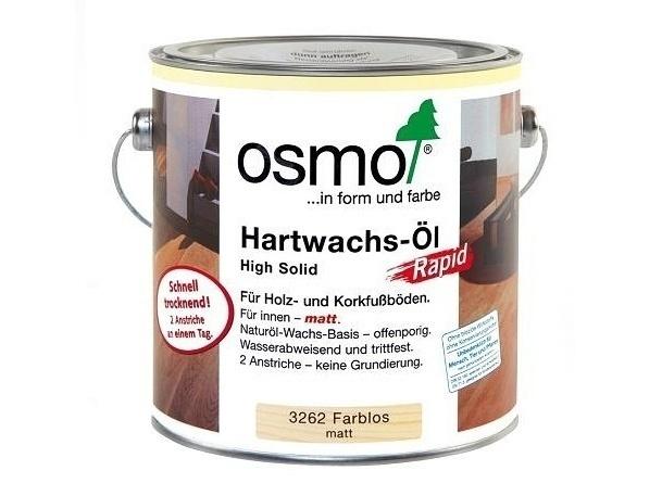 Osmo tvrdý voskový olej Rapid mat 3262 10l