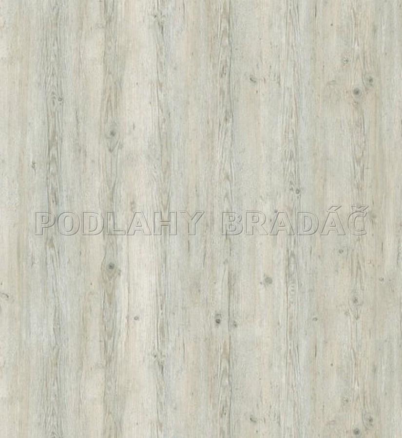 Vinyl Ecoclick 55 Rustic Oak White