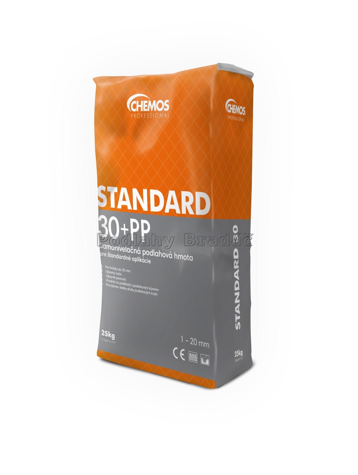 Chemos Standard 30 s PP vlákny 25kg